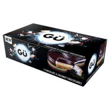 Gu Cheesecakes Chocolate And Coconut 2 X 78G