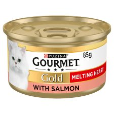 Gourmet Gold Melting Heart Salmon Cat 85G