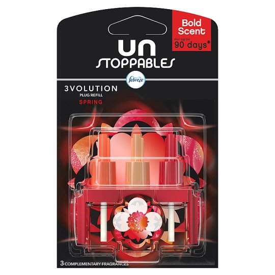 Unstoppables 3Volution Spring Plug In Refill 20Ml
