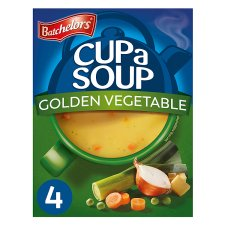 Batchelors Cup A Soup Golden Vegetable 4 Pack 82G
