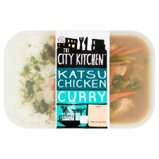 The City Kitchen Chicken Katsu Curry Ready Meal 385G