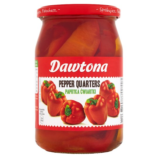 Dawtona Pickled Red Peppers 680G