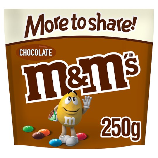 image 1 of M&M's Chocolate More To Share Pouch 250G