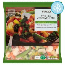 Tesco Stir Fry Vegetable Mix 600G