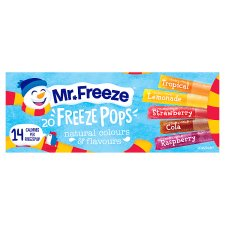 Mr Freeze Freeze Pops 20X45ml