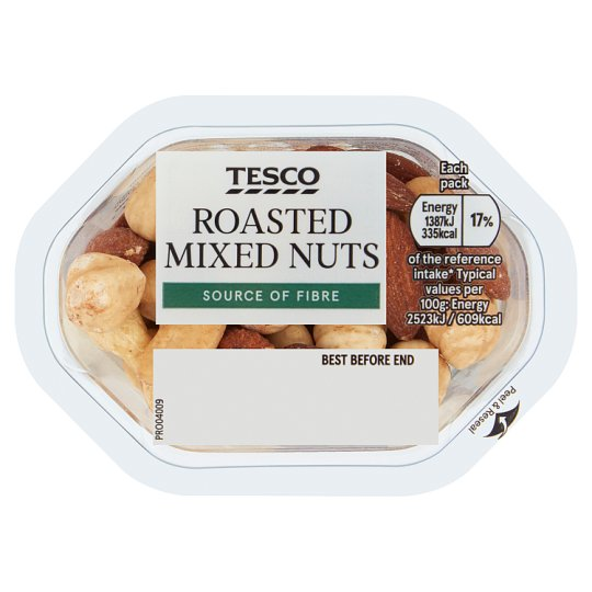Tesco Snacking Roasted Nut Mix 50G