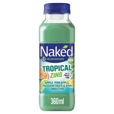 Naked Tropical Tropical Zing Smoothie 360Ml