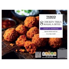 Tesco Chicken Tikka Bites 200G