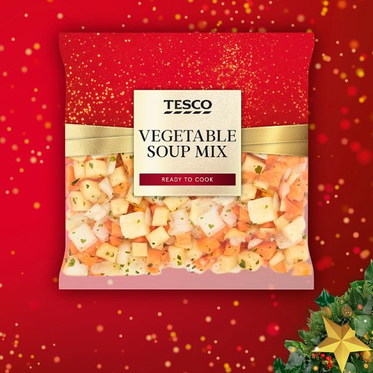 image 1 of Tesco Vegetable Soup Mix 720G