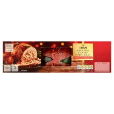Tesco Stuffed Pork Fillet In Proscuitto 600G