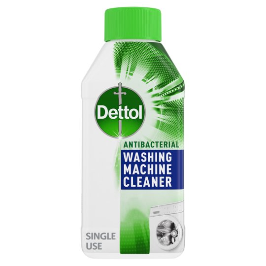 washing machine cleaner dettol washing machine cleaner 250ml groceries tesco 29277