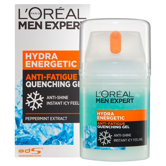 L'Oreal Men Expert Moisturiser Quench Gel 50Ml