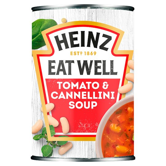 Heinz Tomato Cannellini Beans And Garlic Soup 400G