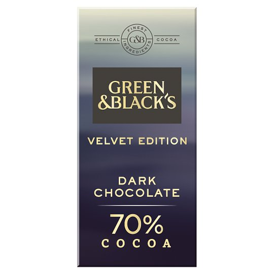 Green And Black's Dark Chocolate 70% 90G