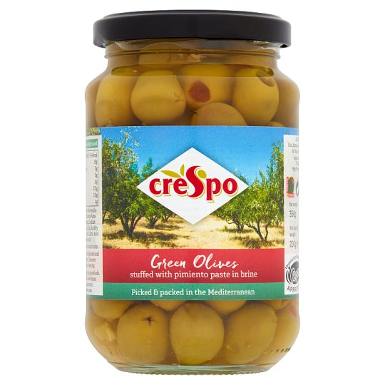 Crespo Olives Stuffed With Pimineto 354G