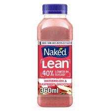 Naked Lean Watermelon Raspberry Smoothie 360Ml