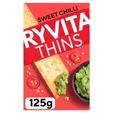 Ryvita Thins Sweet Chilli 125G