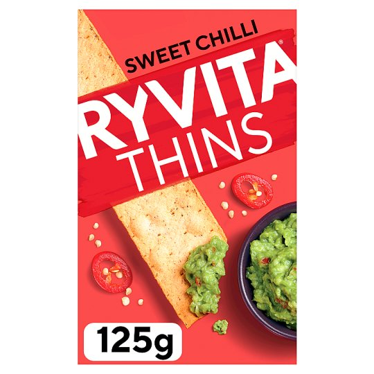 image 1 of Ryvita Thins Sweet Chilli 125G