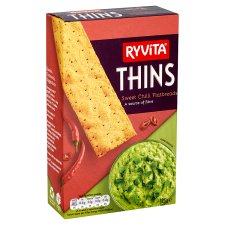 image 2 of Ryvita Thins Sweet Chilli 125G