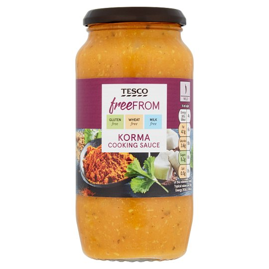 Tesco Free From Korma 500G