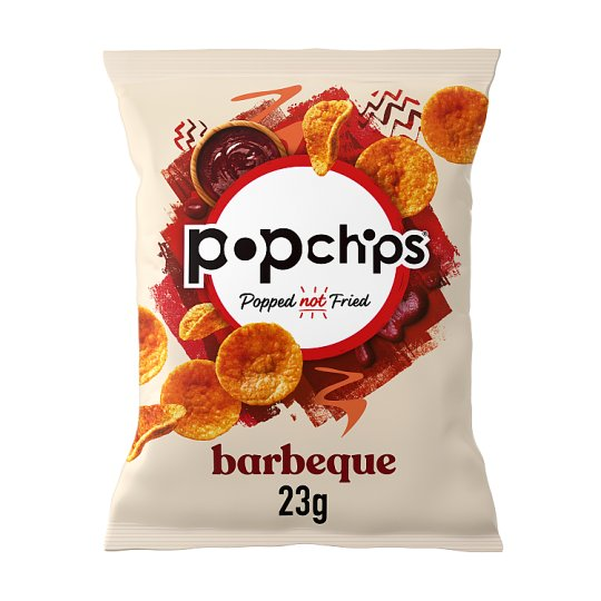 Popchips Bbq Popped Potato Chips 23G