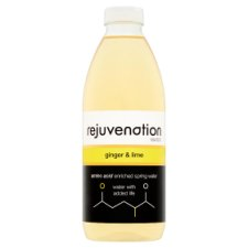 Rejuvenation Water Ginger And Lime 1L