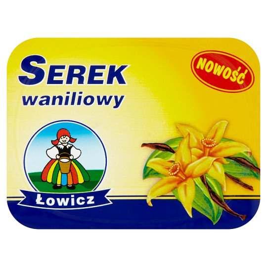 Lowicz Vanilla Flavoured Soft Cheese 150G