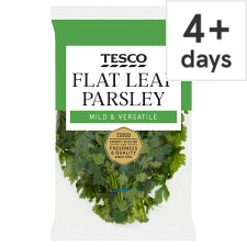 Tesco Bunched Flat Leaf Parsley 100G