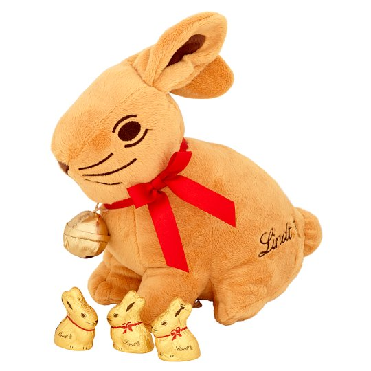 Lindt Gold Bunny Soft Toy With Gold Bunny 30G