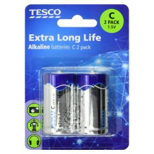 Tesco Long Life C 2 Pack