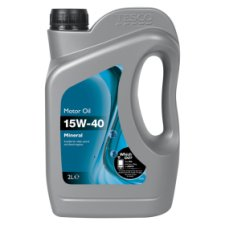 Tesco 15W40 Mineral Oil 2L