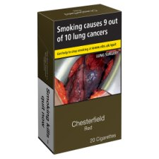 Chesterfield Red King Size 20 Pack