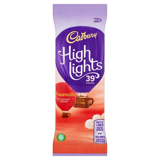 Cadbury Highlights Bournville Hot Chocolate Sachet 11G