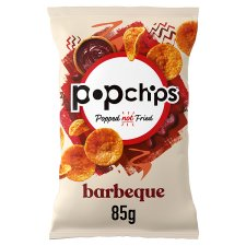 Popchips Bbq Popped Chips 85G