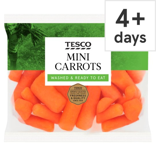 image 1 of Tesco Mini Carrots 320G