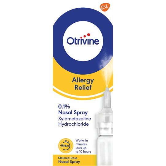 Otrivine Allergy 0.1% Nasal Spray10ml