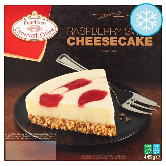 Coppenrath & Wiese Raspberry Swirl Cheesecake 445G
