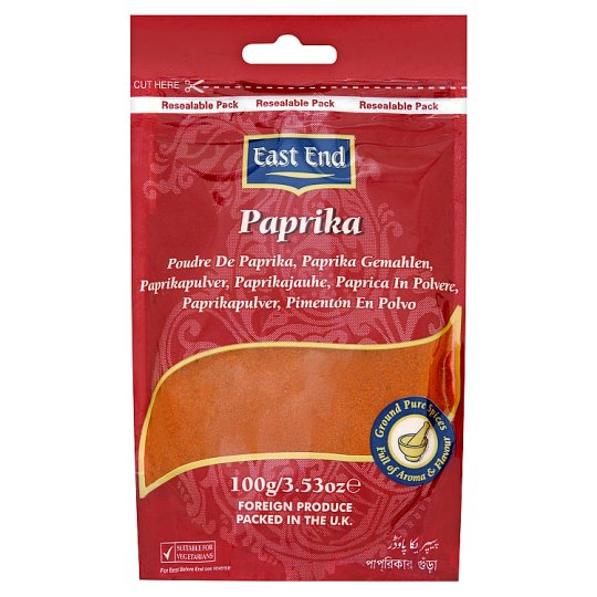 East End Paprika Powder 100G
