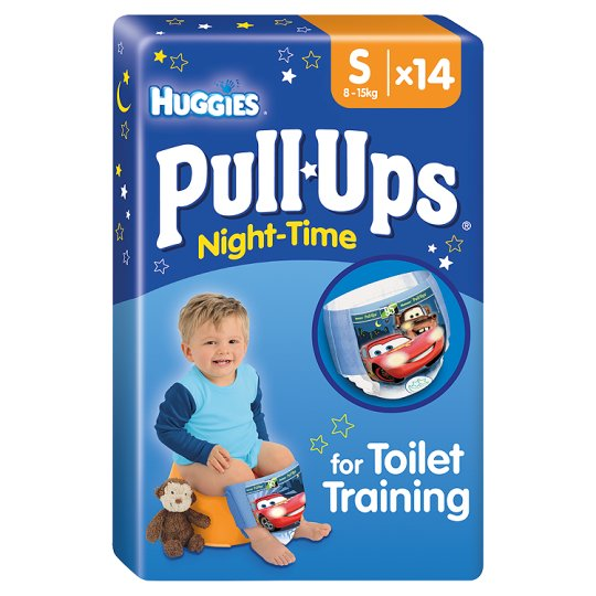 Huggies Pull Ups Boys N/Time Small 14 Learning Pant