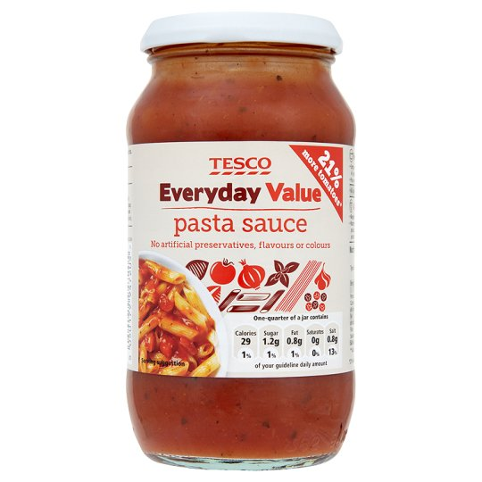 Tesco Everyday Value Pasta Sauce 440G