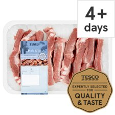 Tesco Pork Ribs 700G