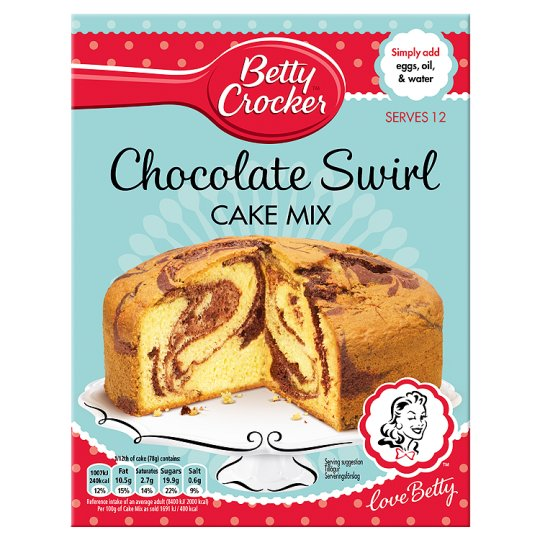 Betty Crocker Golden Cake Mix