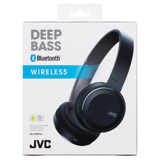 Jvc Ha S30 Black Bluetooth