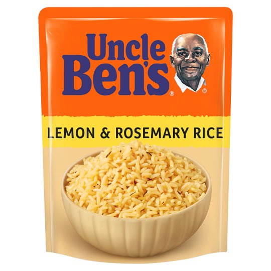 Uncle Bens Microwave Lemon And Rosemary Rice 250G
