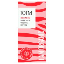 Totm Organic Cotton Daily Liners 30S