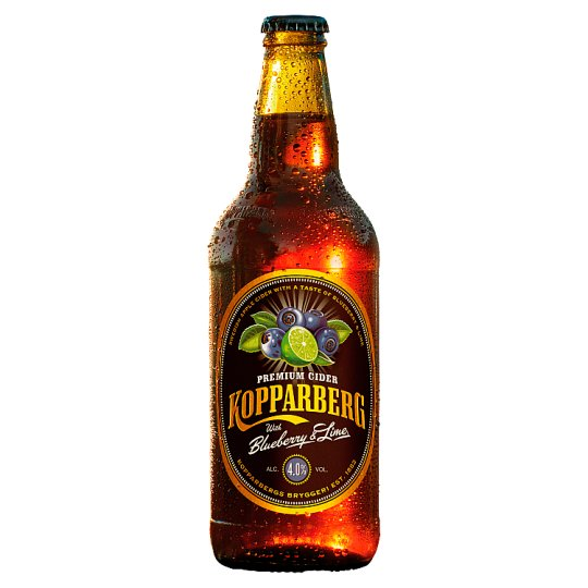 Kopparberg Blueberry And Lime Cider 500Ml Bottle