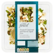 Tesco Finest Toasted Cous Cous And Aged Feta 180G