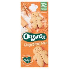 Organix Goodies Gingerbread Men 135G