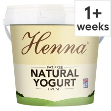 Pakeeza Henna Very Low Fat Natural Yogurt 1Kg