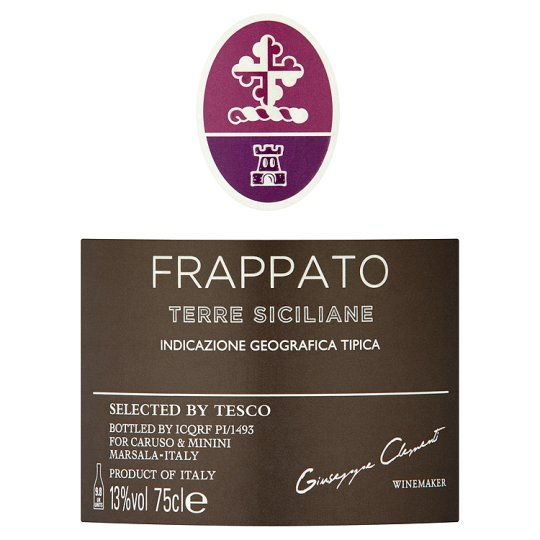 Tesco Finest Frappato 75Cl